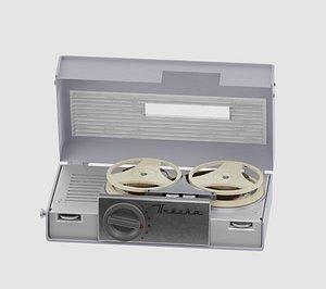 Soviet toy-tape 3D model