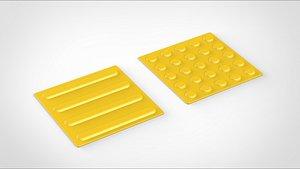 braille block model