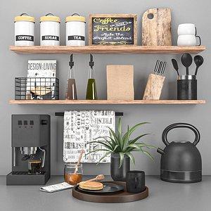 3D kitchen set 8