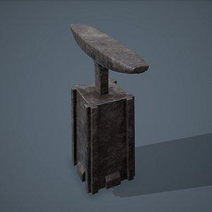 3D model Blacksmith Long Anvil