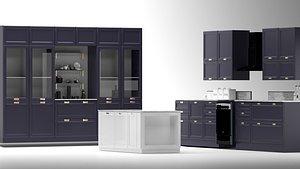 kitchen furniture 3D