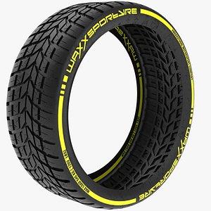 Sport Tyre 3D model