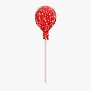 3D Lollipop 4 model