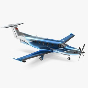 pilatus pc12 ngx business 3D model