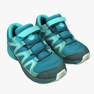 shoes salomon fashion 3D model