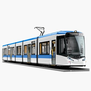 Stadler Tramlink 3D model