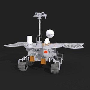 tianwen mars 3D model