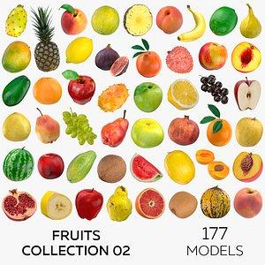 3D model Fruits Collection 02 - 177 models