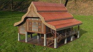 3D malaysia house model
