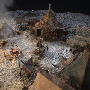 camp barbarian model