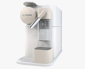 3D nespresso lattissima