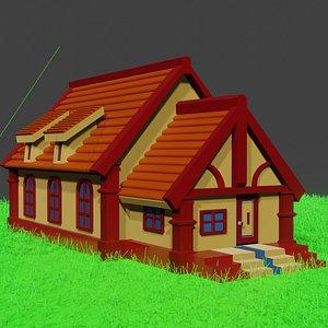 house beautiful 3D model
