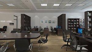 Office Interior 05 model