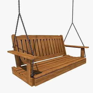 porch swing 3D model