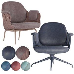 3D lounger chair