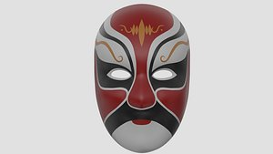 3D chinese style face mask