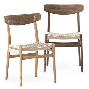 3D model chair ch23