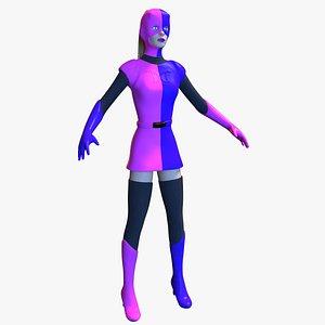 Devilina Dare 3D model
