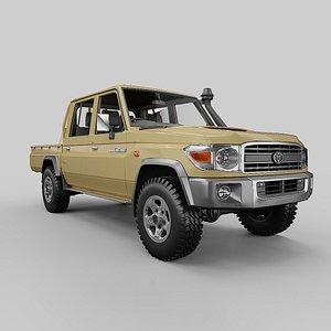 2012 Toyota Land Cruiser LC79 3D