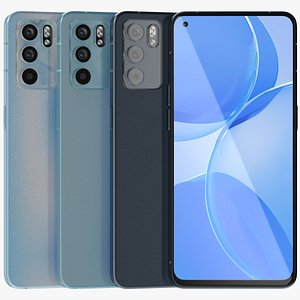 3D OPPO Reno 6 All Colors