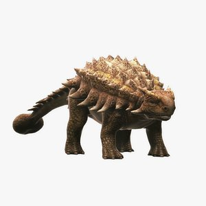 dinosaur nature animal 3D model