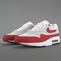 Air Max 1 Nike Anniversary Red PBR