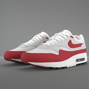 Air Max 1 Nike Anniversary Red PBR model