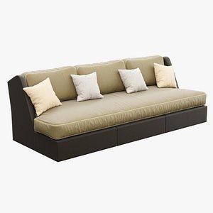 3D model sofa mtl