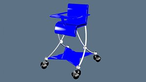 CHAIR FOR BABY 3D model