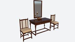 3D Antique Furniture
