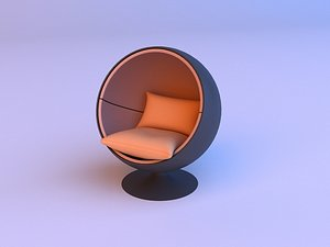 3D model Awesome Sphere chair 3D model