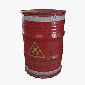 Red Barrel 3D model