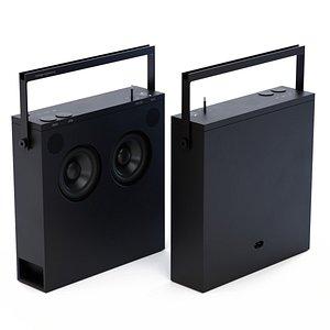Teenage Engineering OB-4 Radio 3D model