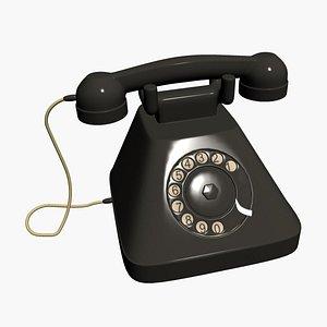 3D telephone phone