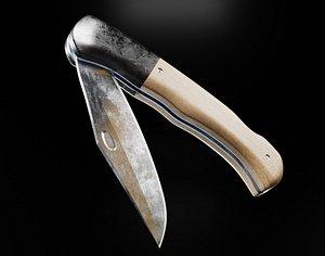 knife jackknife 3D