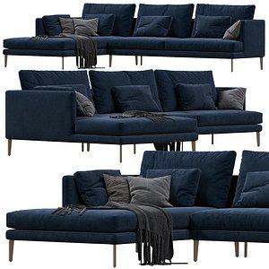 3D sofa paraiso