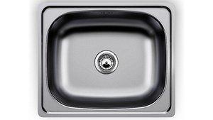 3D Sink Blanco steel 610x510