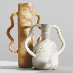 VASES WITH HANDLES by ZARA HOME part 1 model