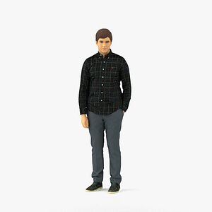 scanned realistic human model