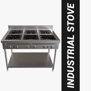3D stove industrial