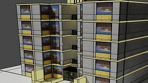 Cruceta Building 3D model