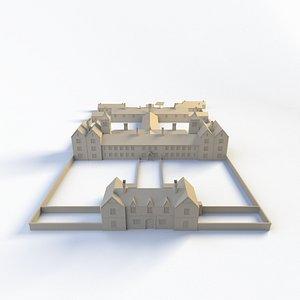 irish workhouse work 3D model