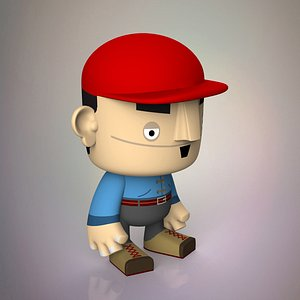 toy character 3D model