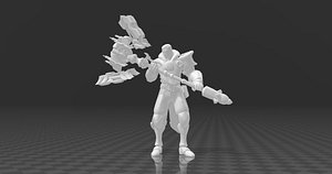 3D Jayce model