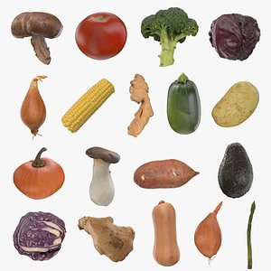 Vegetable Collection 3D