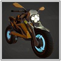 Motorcycle Fantasy Bee Style Custom Concept