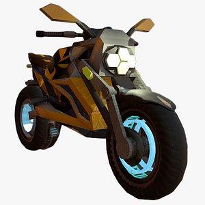 motorcycle fantasy bee 3D