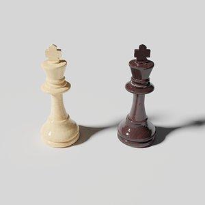3D King - Chessmen