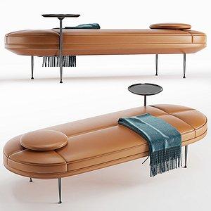 Wendelbo WON Canoe daybed 3D model
