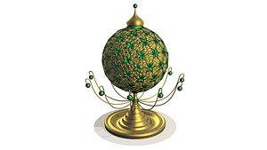 3D sphere green envy